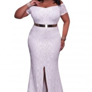 Dresses & Skirts - All White Evening Dress